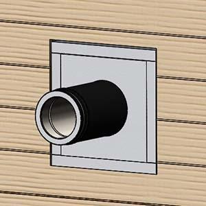 устройство пожарной разделки в стене